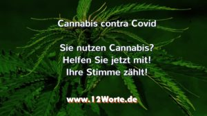 Umfrage Cannabis contra Covid